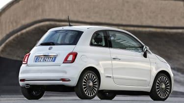 Fiat 500 facelift - rear static