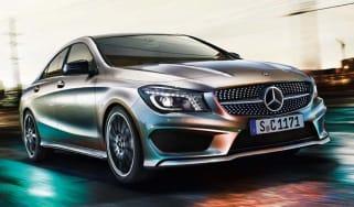 Mercedes CLA front action