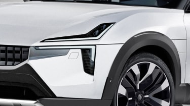 Polestar 3 exclusive image front detail