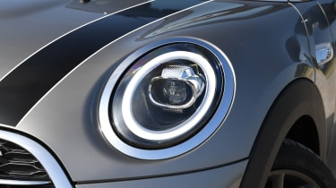 MINI Cooper S Convertible - headlight