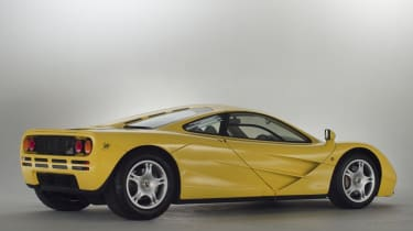 McLaren F1 Yellow rear