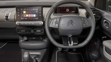 Citroen C4 Cactus - steering wheel