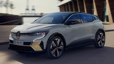 Renault Megane E-Tech Electric SUV - front static
