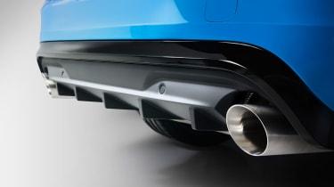 Volvo V60 Polestar - exhaust