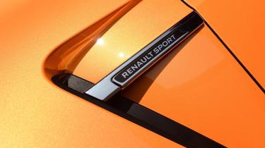 Renault Megane RS - side detail