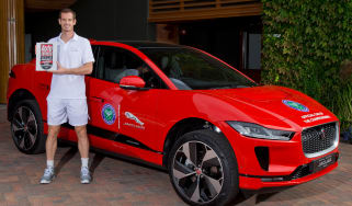 Andy Murray Jaguar I-Pace - header