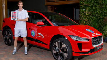 Andy Murray Jaguar I-Pace - header