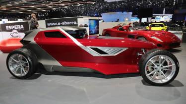 Sbarro Mojave Concept - side