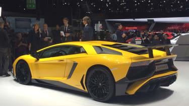 Lamborghini Aventador SV at Geneva