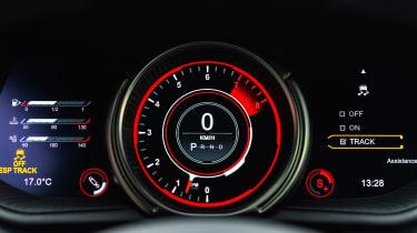 Aston Martin DB11 AMR - dials full