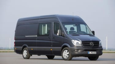 Mercedes give premium feel to large van market.