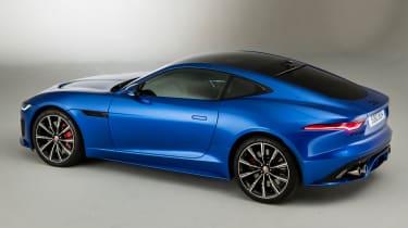 Jaguar F-Type - rear 3/4 static