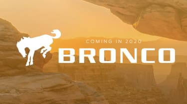 Ford Bronco SUV teaser