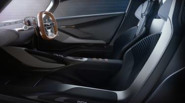 Aston Martin 003 concept - seats