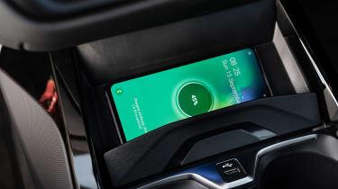 BMW 1 Series - phone charging