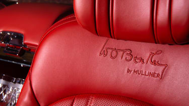 Bentley Mulsanne special - leather seat
