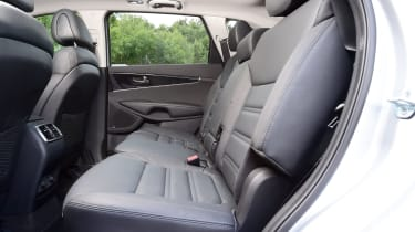 Kia Sorento - middle row seats