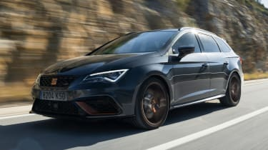SEAT Leon Cupra R ST - front tracking