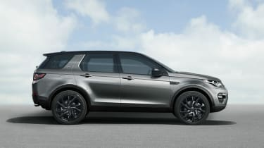 Land Rover Discovery Sport side static