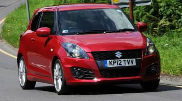 Suzuki Swift Sport front tracking