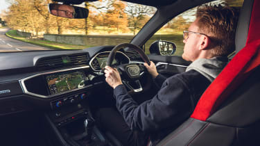 Audi RS Q3 - Brodie driving