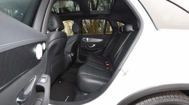 Mercedes GLC 350d - rear seats