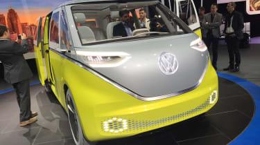 Volkswagen I.D. Buzz - show front