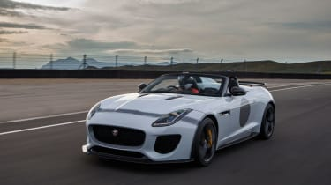 """The Project 7 still feels as much a GT as it does a sports car. But&nbsp;as the road tightens, the greater&nbsp;<span id=""""itxthook0p""""><span id=""""itxthook0w"""">agility</span></span>, mid-corner grip and much-improved traction becomes more"""