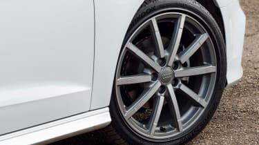 Audi A3 front wheel