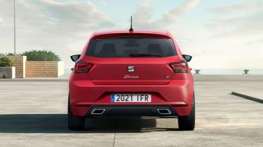 SEAT Ibiza facelift - rear