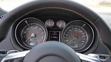 Audi TT S Lightweight dials
