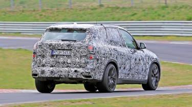 2018 BMW X5 - rear spy shot