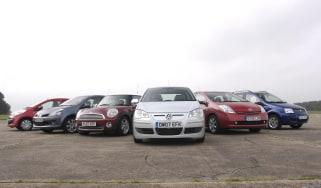 VW Polo Bluemotion vs rivals