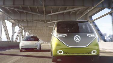 Volkswagen I.D. Buzz - full front action