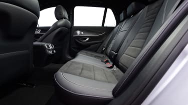 Mercedes E-Class Estate E220d UK - rear seats