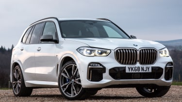 bmw x5 m50d static front