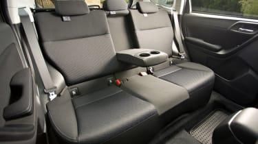 Subaru Forester 2.0D XC rear seats