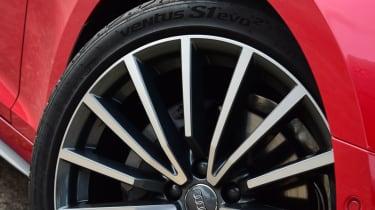 Twin test - Audi A5 - wheel