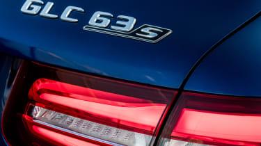 Mercedes AMG GLC 63 S - badge