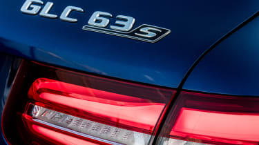 Mercedes AMG GLC 63 S - badge