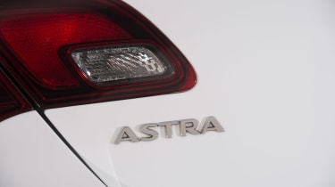 Used Vauxhall Astra - rear light detail