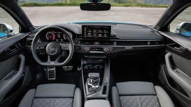 2019 Audi S4 saloon cabin