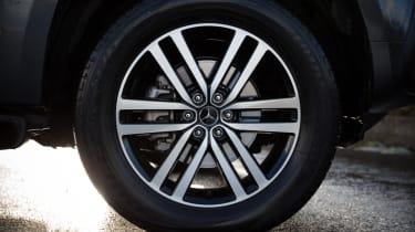 Mercedes X-Class review - alloy wheel