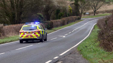 Britain's most dangerous roads revealed - police patrol