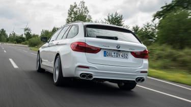 BMW Alpina D5 S Touring - rear action