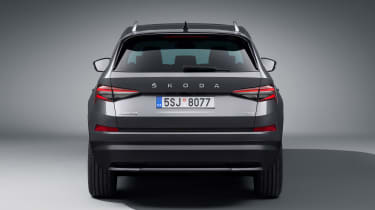Skoda Kodiaq facelift - full rear studio