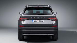 Skoda Kodiaq facelift - full rear studio