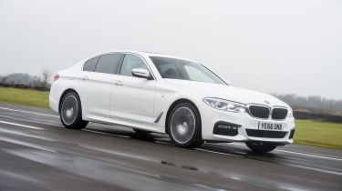 BMW 5 Series 520d xDrive 2017 - front tracking