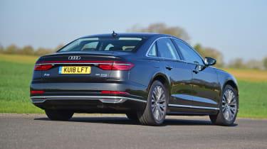 Audi A8 55 TFSI - rear