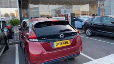 nissan leaf long termer